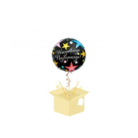 Wszystkiego Najlepszego Balon z helem