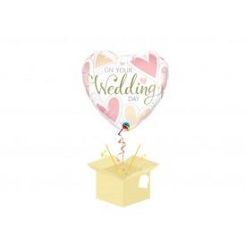 Ślubny Balon z helem