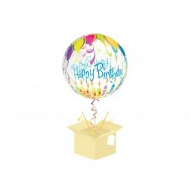 Happy Birthday Balon z helem