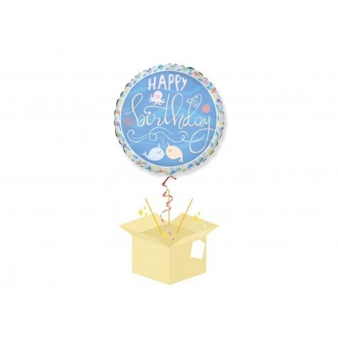 Urodzinowy Balon z helem